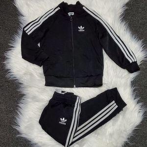 Toddler Adidas track suit set
